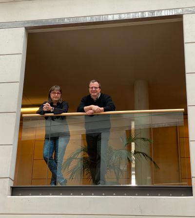 Projektleiter Anke Hülter & Dr. Martin Schultheiss / MPG ©Mark Wanger / MPG