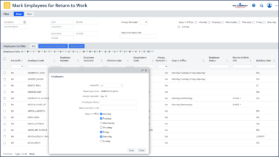Archibus V25.2_Workplace planning
