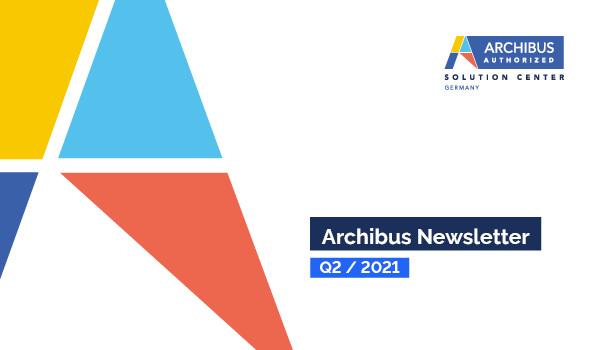 Archibus Newsletter Q2/ 2021 Header Grafik